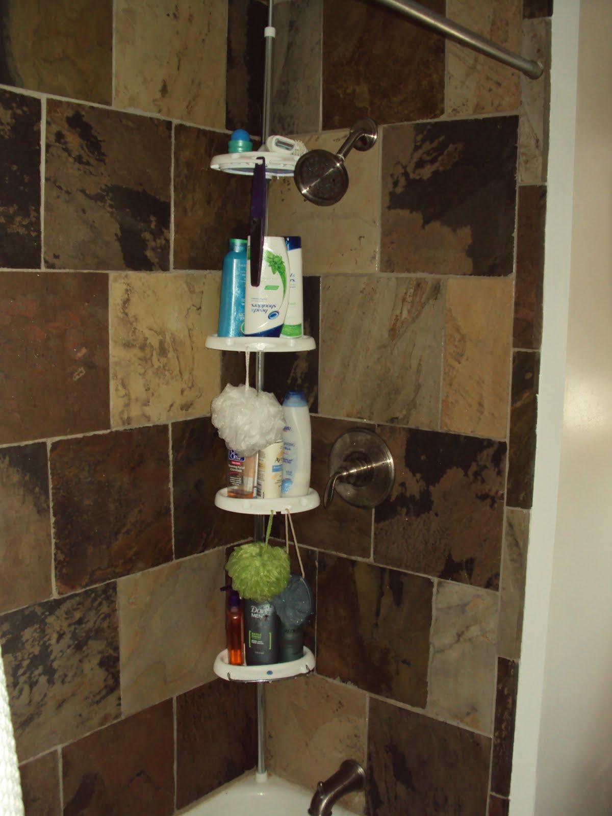 Slate tile shower shower head slate tile