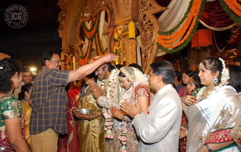 Manchu vishnu wedding