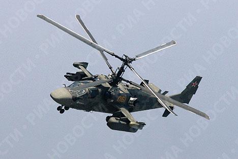 HELICOPTEROS RUSOS Kamov+k-52