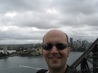 View from Sydney Harbour Bridge