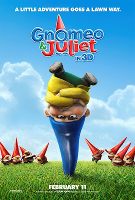 Gnomeo and Juliet Poster