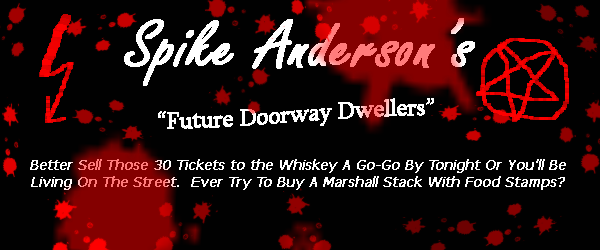 "Spike Anderson's ""Future Doorway Dwellers"""