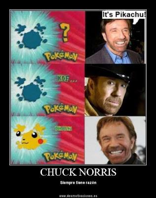 Chuck Norris Never Fails