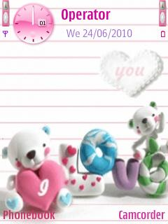Baby Love Wallpapers For Mobile Phones : LOVE cOLLEcTION: cute love wallpapers 02