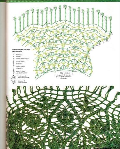 بونشو كروشية بالصور والباترون  Crochet_calados_05