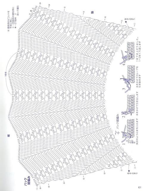 بلوزات كروشية بالبترون تحفه 4d