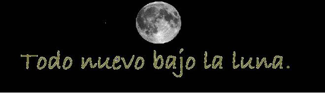 Todo nuevo bajo la luna