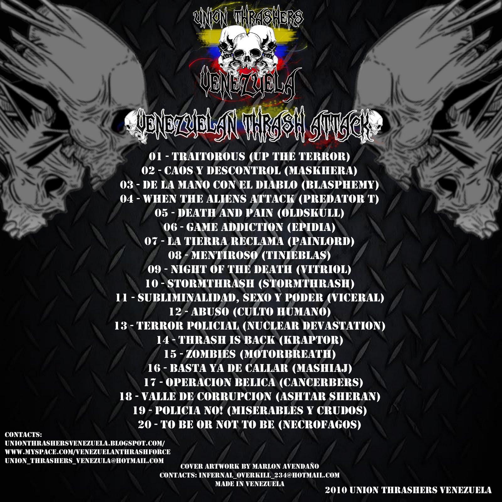 Venezuela Thrash Attack Vol 1 (Compilado 2010) CONTRA-PORTADA-UTV