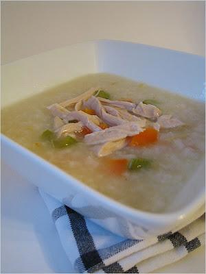chicken porridge rice bubur ayam