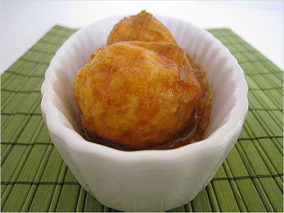 Egg rendang telur