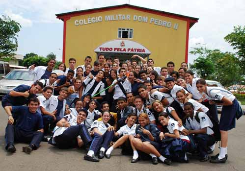 Resultado de imagem para colegio militar D PEDRO II DF