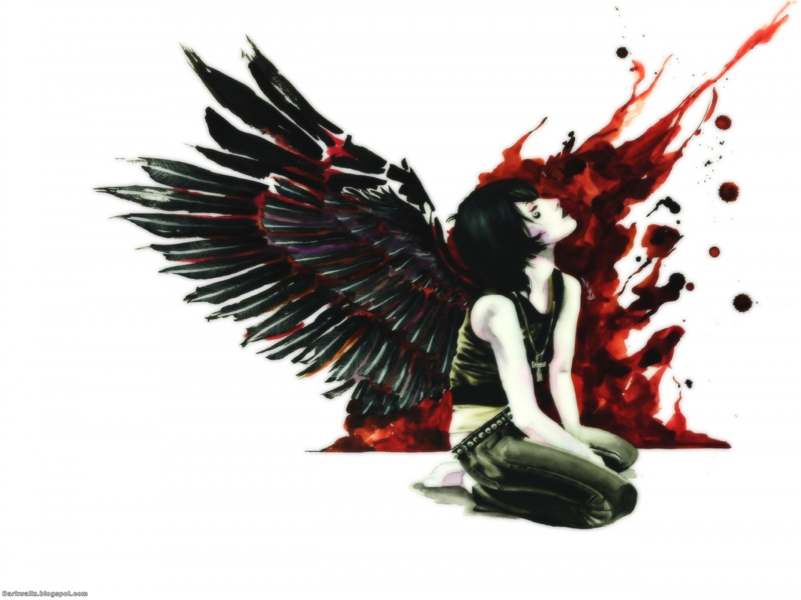 Dark Angel Wallpapers 65 | Dark Wallpaper Download