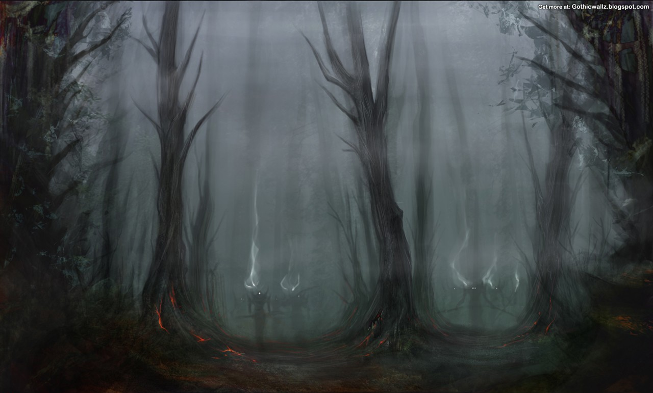 Gothic Wallpaper 57Gothic Forest Backgrounds