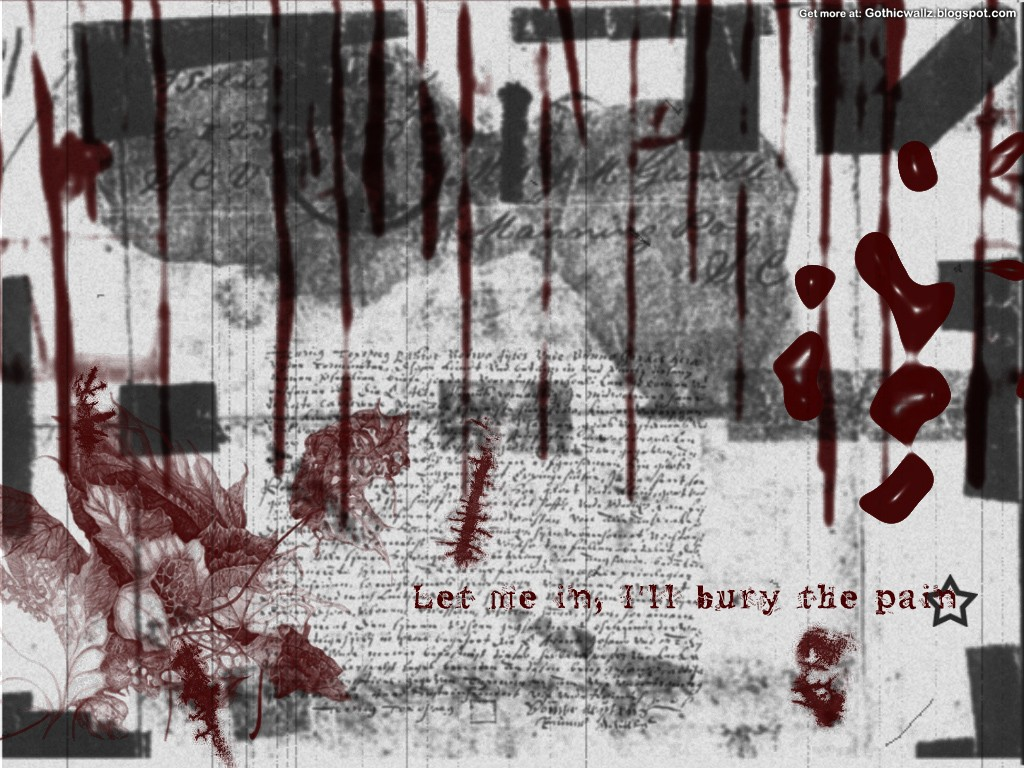 Gothic Wallpapers: Ill-Bury-The-Pain