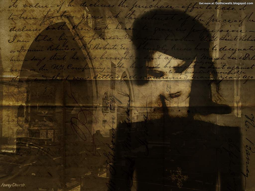Gothic Wallpapers: Misery-Tapestry