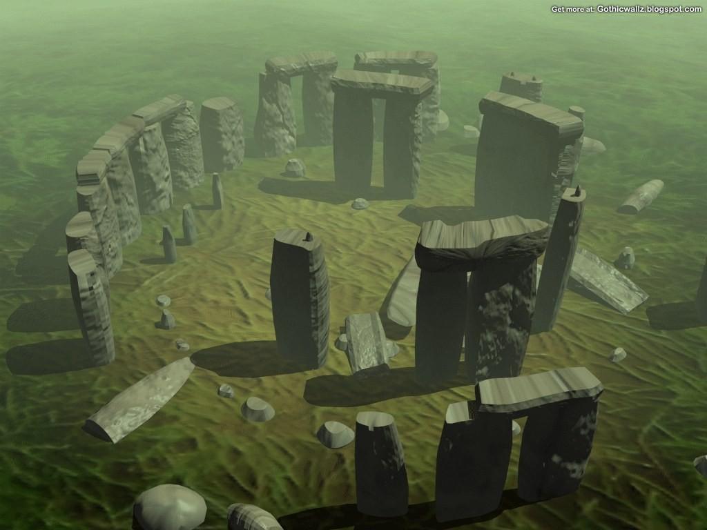 Gothic Wallpapers: StoneHenge