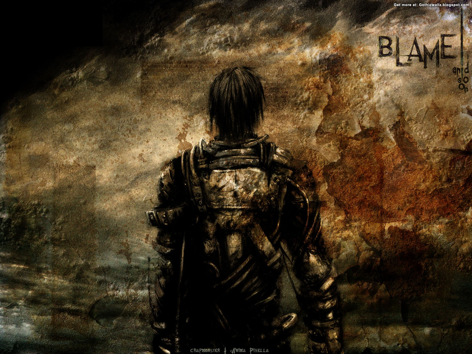 Blame-And-So-On | Gothic Wallpaper Download