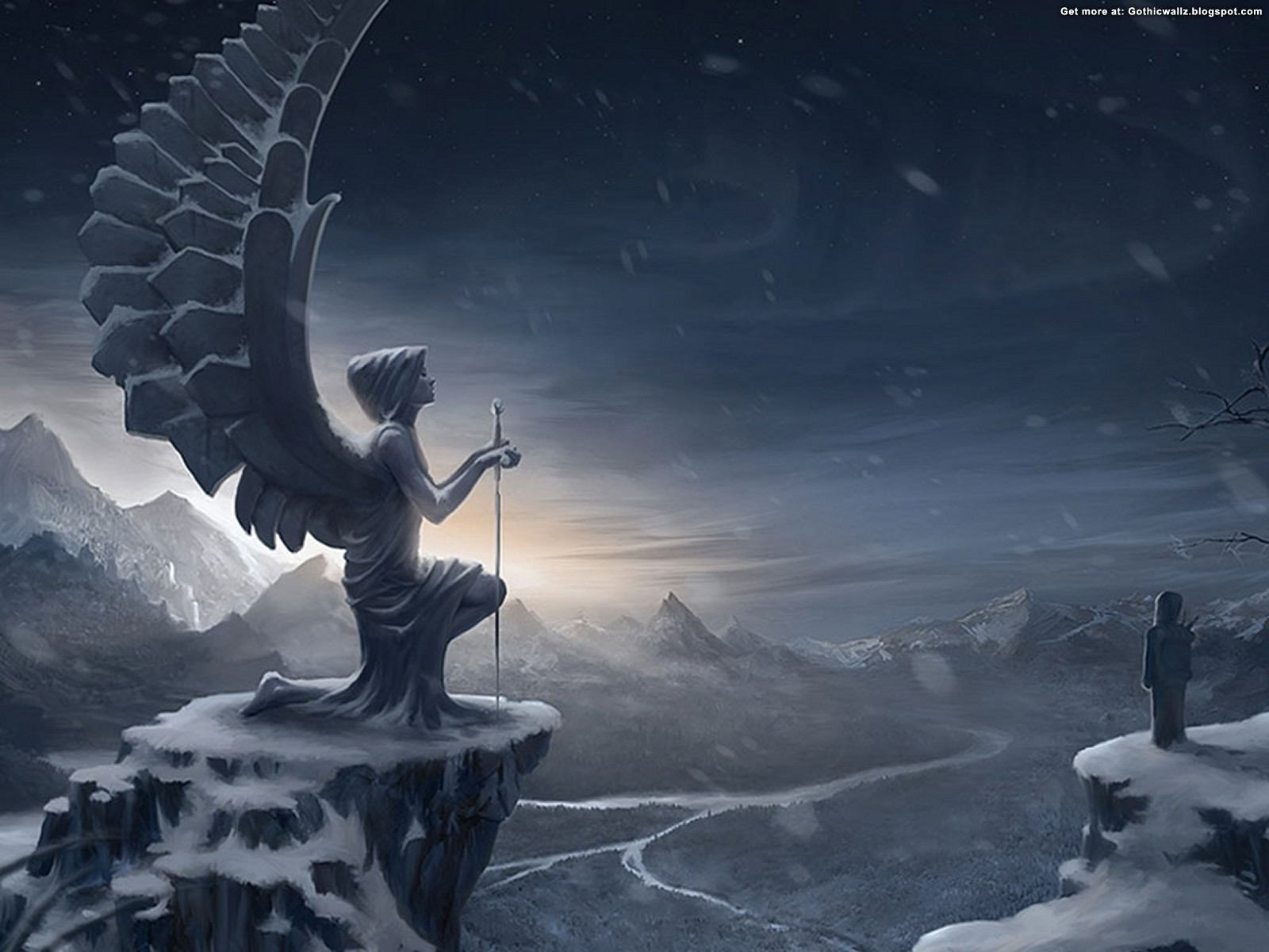 Winter in the Goth | Gothic Wallpaper Download