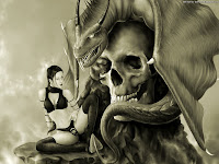 With The Skull | Dark Gothic Wallpapers