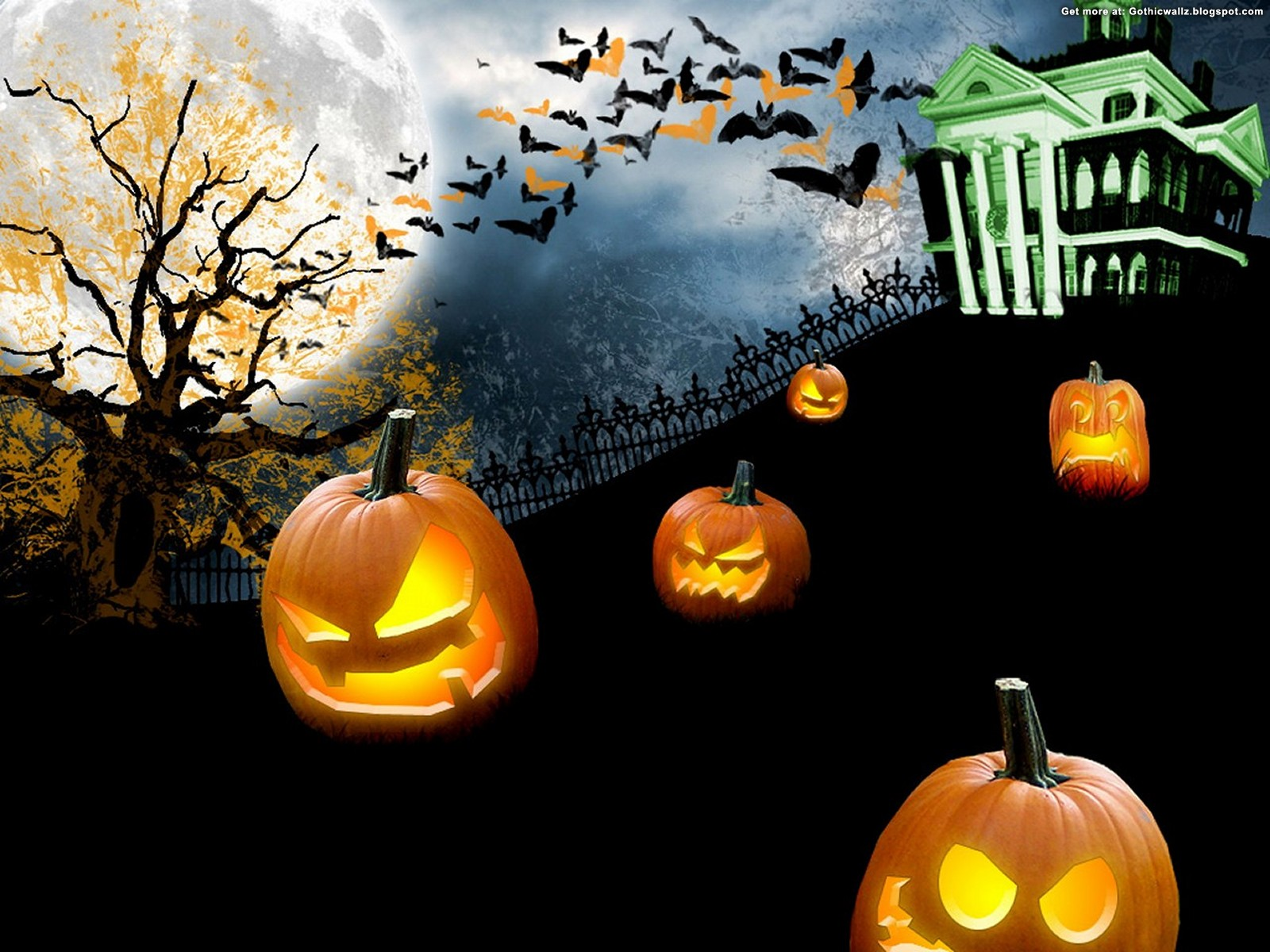 spooky halloween | Gothic Wallpaper Download
