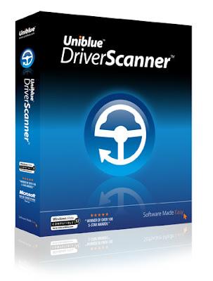 Download Uniblue Driver Scanner 2009 DriverScaner boxshot 5B1 5D