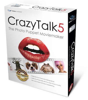 Crazy Talk 5.1 Pro - Faça suas fotos falarem REA02003 1 5B1 5D