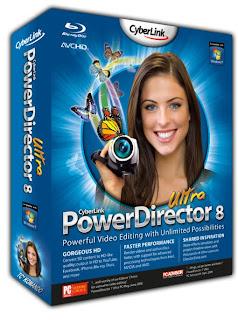 Download  CyberLink PowerDirector 8.00 Build 2013