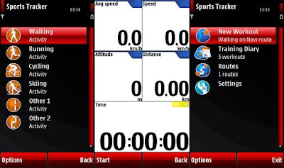 Nokia Sports Tracker Software