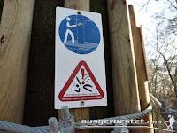 Kletterpark - richtig sichern