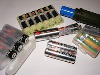 Batterien-Aufbewahrung