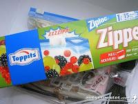 Toppits Ziploc Beutel