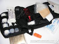 Outdoor Erste-Hilfe Notfall Set für den Rucksack - Tatonka universal Tasche mit Inhalt