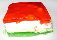 ... oz package lime jello 3 oz package lemon jello 1 cup crushed