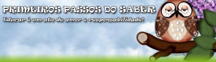 PRIMEIROS PASSOS DO SABER