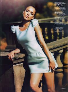 Jessica Alba Sexy in Tatler Magazine