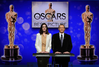 Anne Hathaway at 82nd Academy Awards Nominations Announcement