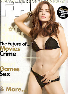 Eliza Dushku in Bikini On FHM Magazine