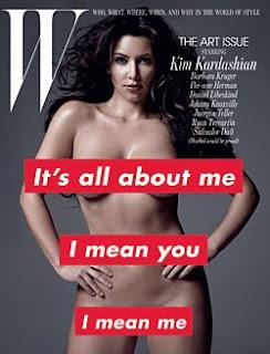 Kim Kardashian W Magazine Pictures