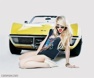 Ke$ha (Kesha) in Complex Magazine, December 2010 issue