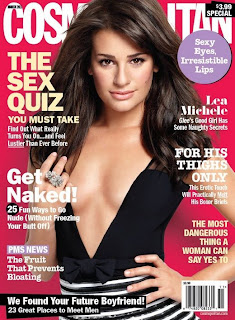 Lea Michele in Cosmopolitan - March 2011