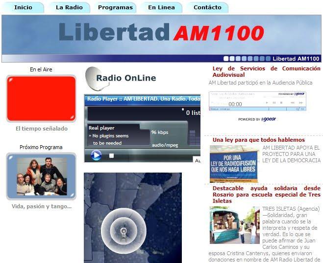 Gambito de Rey: Nerina Thomas en Radio Libertad de