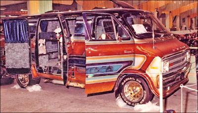 1970's Show Winning Custom Van on eBay