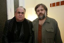 J. Alemán y S. Zizek