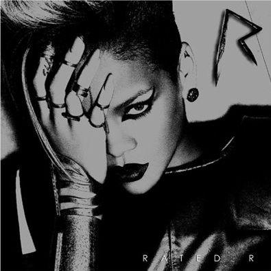 la cover ufficiale di rated r, il nuovo album di rihanna