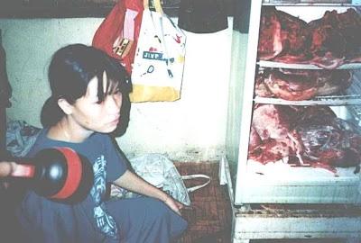Philippine Lady Enjoying Eating Human Body Meat, Shocking News