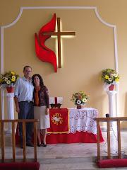 Pastora Édina e Pastor Vicente.