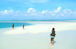 Walking on a Sandbar