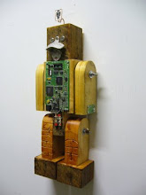 Real Wooden Robot