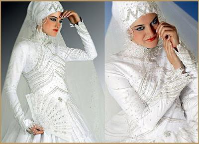 مدل لباس نامزدی محجبه و پوشیده زیبا