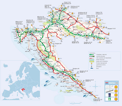 Oficina turismo croacia mapa for Oficina de turismo croacia
